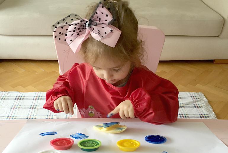 çocuklarda evde aktivite