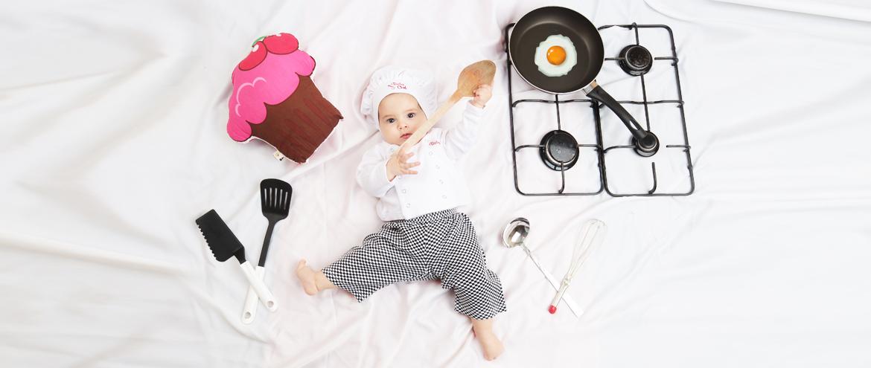 Güneş'le Konsept Bebek Fotoğrafçılığı